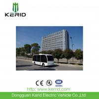 Buy cheap Self Drive Solar Powered Electric Car , Driverless Shuttle Bus 8 Seats Laser Control from Wholesalers