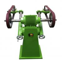 Quality Smooth / Bright  Semiautomatic Wheel Polishing Machine Clean Casting Riser 1100*1200*1050mm wholesale