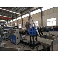 Buy cheap Plastic WPC Foam Sheet Extrusion Line with 38Cr MOAIA Screw & Barrel Material from wholesalers