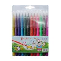China wholesale colorful 12pcs art marker water color pen set for kids drawing on sale