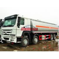 Buy cheap 8 X 4 HOWO Oil Tanker Truck For Loading Fuel / Gasoline 6000 Gallons Volume from wholesalers