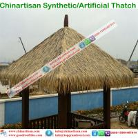 Buy cheap Artificial Palm Synthetic Thatch for hotels Umbralle pavilion from Wholesalers