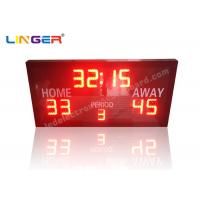 Buy cheap Remote Controller With Simple Function and Ultra Thin Led electronic Basketball Scoreboard from Wholesalers