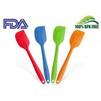 Flexible Non Stick Silicone Essential Kitchen Tools , Food Grade Silicone Scraper