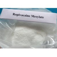 Buy cheap 99% Purity Ropivacaine Mesylate Raw Powder CAS 854056-07-8 Local Anesthetic on sale for postoperative or labor analgesia from wholesalers