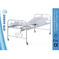 Buy cheap Single Crank Medical Manual Hospital Bed Back Section Adjustable from Wholesalers