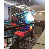 Buy cheap Indoor Glass Led Display Screen And Le Wall  For Shop Mall Cabinet Advertising from wholesalers