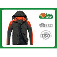 China Mens Waterproof  Multi Function Jacket with hood For Hiking,Fishing,Hunting on sale