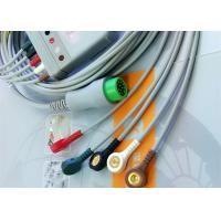 Buy cheap 12 Pin 5 Leads One Piece ECG Cable Monitor Connector Cable Compatible Mindray from Wholesalers