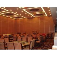 Buy cheap Custom Design Sliding Aluminium Track Floor to Ceiling Hotel Movable Partition Walls from wholesalers