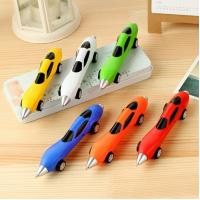 Buy cheap Promotional Cute Plastic Car Shape Ballpoint Pen For Kids from Wholesalers