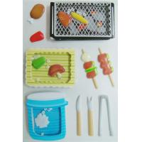stationery personalized Shaker Sticker barbecue Style 3D For Child boy