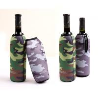 Buy cheap Camouflage anti-collision Neoprene Wine Cooler,bag/cup/red wine holder from Wholesalers