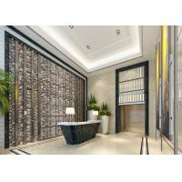 Buy cheap Modern Removable Silver Color Gold Foil Contemporary Wallpaper For Walls from wholesalers