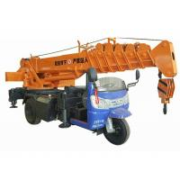 Buy cheap Small Tricycle Mobile Truck Mounted Hydraulic Crane 3- 5 Ton For Construction from wholesalers