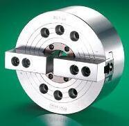 Buy cheap KM 2 jaw wedge type Thru-hole universal hydraulic power lathe chuck for CNC Grinding machine from wholesalers
