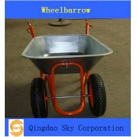 Buy cheap two wheel  Wheelbarrow/ wheel barrow  used for Garden and Construction from Wholesalers