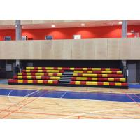 Buy cheap Indoor Arena Stage Seating Recessed Unit With Removable End Rails from Wholesalers