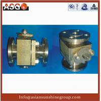 Buy cheap DN25 Manual Flange Connecting 300LB Titaniumtim Two Piece Soft Sealing Ball Valv-Valve-ASG from Wholesalers