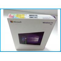 Buy cheap Multi - Language Product OEM Key Microsoft Windows 10 Pro Pack With DVD OEM from Wholesalers