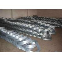 Buy cheap 0.8mm * 5kg Roll Galvanised Binding Wire , Electric Galvanized Wire Q195 / Q 235 from wholesalers