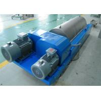 Buy cheap Horizontal Liquid Solid Separation Centrifuge Drum Diameter 350Mm PLC Control from Wholesalers