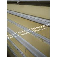 Buy cheap Gray / White Cold Room Panel Polyurethane / PU Sandwich Panels , Width 950mm from Wholesalers