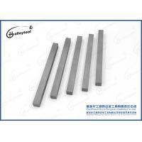 Buy cheap Punching Mould Tools Tungsten Carbide Square Bar With One - End Chamfered from Wholesalers