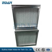 Buy cheap Chemical Industry High Capacity HEPA Filter Leak Proof High Mechanical Strength from wholesalers