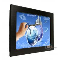 Buy cheap 12.1 inch 1024X768 Capacitive  Panel Mount Waterproof IP65 Front Touch Screen Monitor from wholesalers