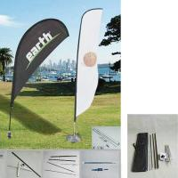 """Buy cheap 50.8""""W x 157.5""""H outdoor feather banners /  Promotion Feather Flag and teardrop from Wholesalers"""