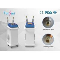 Buy cheap Two kinds of head for RF output fractional rf microneedle machine radio frequency facial treatment benefits from Wholesalers