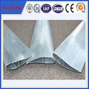 China Aluminum extrusion blade supplier, shutter fin extrusion aluminium price factory on sale