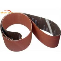 China Removing Paint Metal Sanding Belts Aluminum Oxide Abrasive P 24 - 2500 Grits on sale