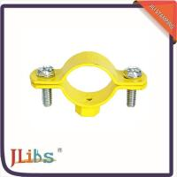 Buy cheap Cast Iron Hanging Pipe Clamps , Industrial Pipe Clamp Bracket ISO9001 Certification from Wholesalers