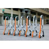 Buy cheap Aluminium Manual Safety Accordion Barrier Gate With Reflective Strickers from wholesalers