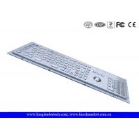 Buy cheap Industrial Kiosk Computer Metal Keyboard With Panel Mount Function Keys from Wholesalers
