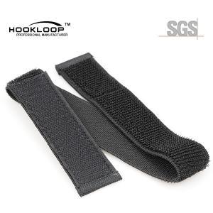 Quality Custom Printed Nylon Webbing Straps , Small Elastic Book Straps With Vecro wholesale