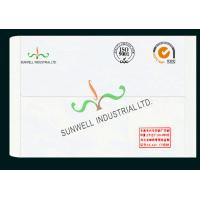 Quality Normal Finishing Custom Printed Envelopes , Business Greeting Card Envelopes for sale