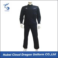 Buy cheap Customized Spring Autumn Security Guard Dress Uniform For Middle East , Black Color from Wholesalers