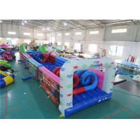 Buy cheap Outdoor Inflatables Obstacle, Inflatable Challenge Course For Party Games from wholesalers