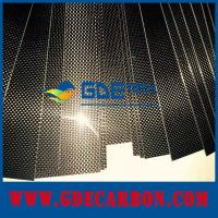 Buy cheap customized carbon fiber sheet highly glossy for car decoration from Wholesalers