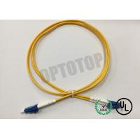Buy cheap LC / UPC - LC / UPC OS2 Single Mode Optical Patch Cord 2f Zip 2.0mm Ofnr Corning Smf-28 Ultra from Wholesalers