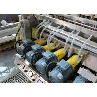 PLC Float Glass Grinding Machine  / Double Glass Edger Machine  And Polishing