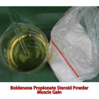 Buy cheap 99.6% Purity Anabolic Muscle Building Steroids Raw Powder Boldenone Propionate 10g For Test from wholesalers