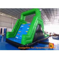 Buy cheap Customized Outdoor  Inflatable water slide for kids fun , bouncer water slide for water park from wholesalers