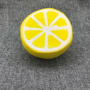 Buy cheap PU Fruit Shape Slow Rising Toy Fruit Jumbo Squishies Toy Scented Kit Fruit Apple Banana Lemon Orange Peach Jumbo from wholesalers