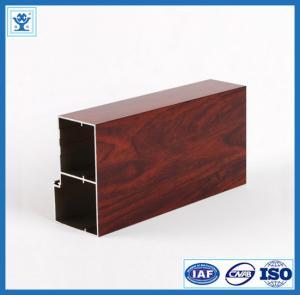 Wood Grain Transfer Aluminum Profile for Door