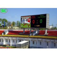 Buy cheap P6 Outdoor Stadium Soccer Scoreboard LED Display with Nationstar LED from Wholesalers