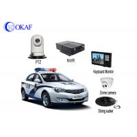 Buy cheap 4G Police Car IR Auto Tracking PTZ Camera / Security CameraWith Powerful Magnet Mount from Wholesalers